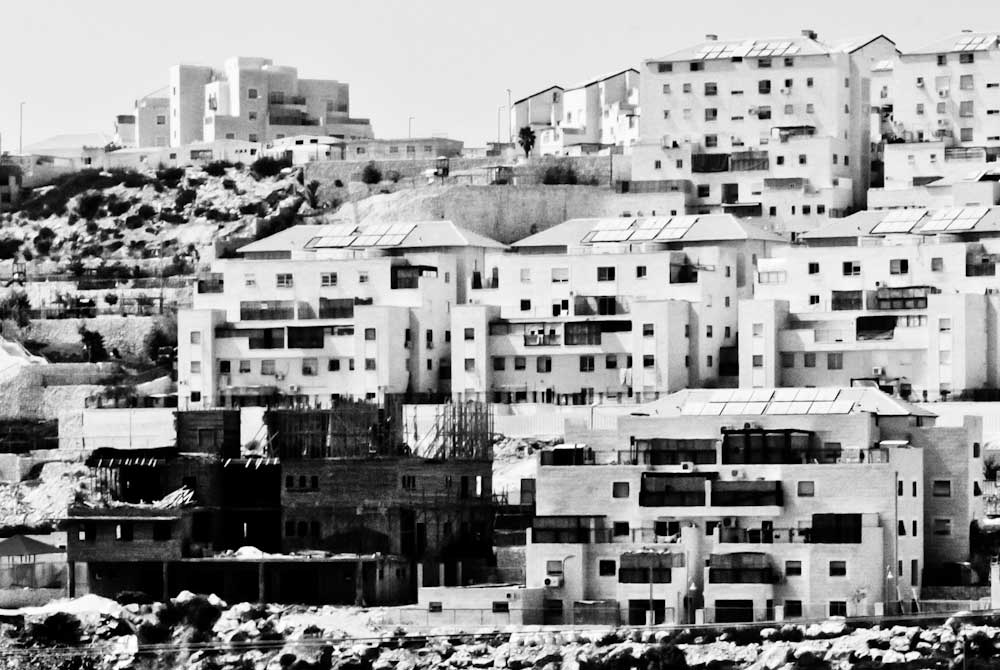 "Photographie issue de la série ""Palestinian workers in Settlement"", © Andrea & Magda."