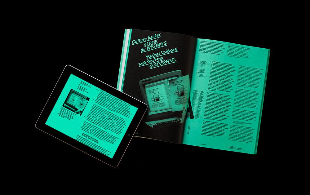 Design graphique pratiques num riques passage en revue for Office design journal