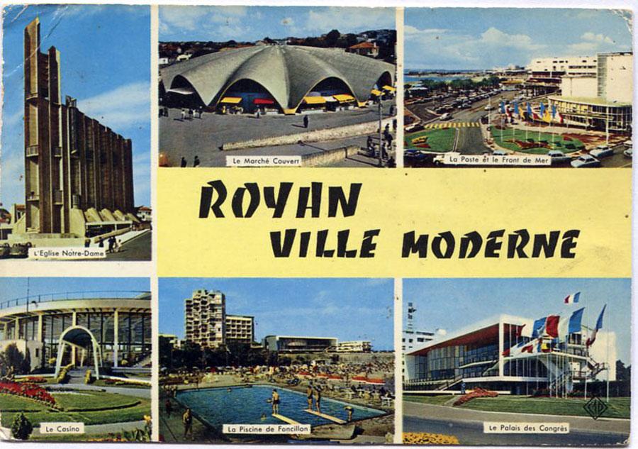 Royan : modernes cartes postales