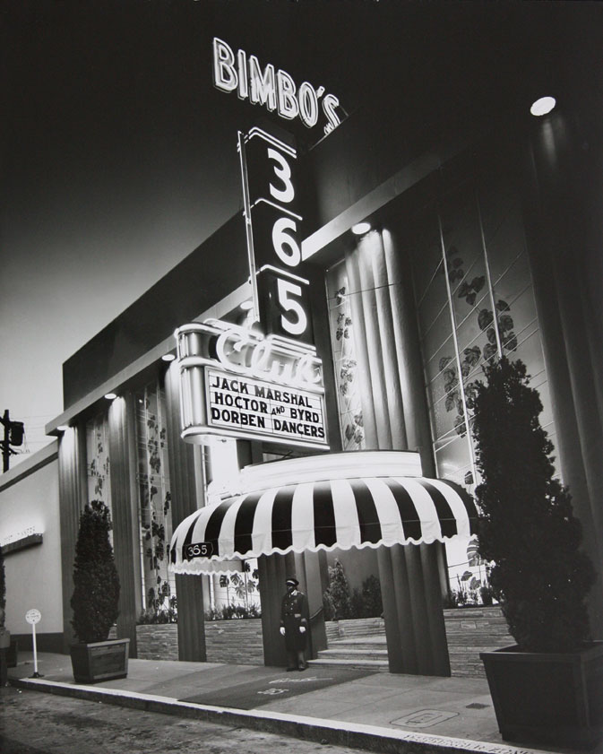 New Year's, Bimbo's 365 Club, 1957, San Francisco, California (From the collection of Jim Heimann)